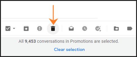 जीमेल में सभी ईमेल को कैसे डिलीट करें - How to delete all emails in Gmail In Hindi