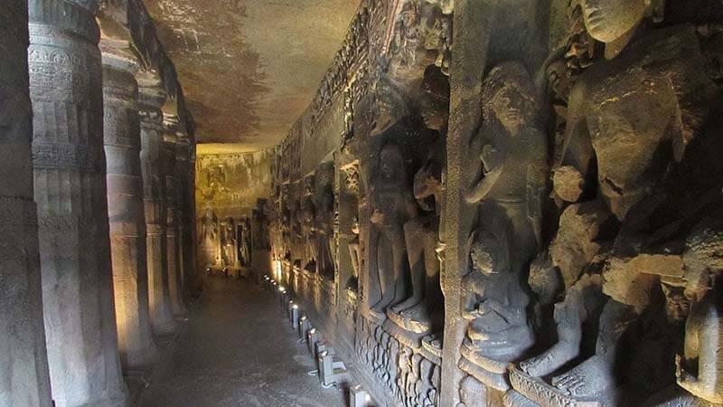 अजंता की गुफाओं का इतिहास (History of Ajanta Caves), औरंगाबाद - हिंदी [Hindi]
