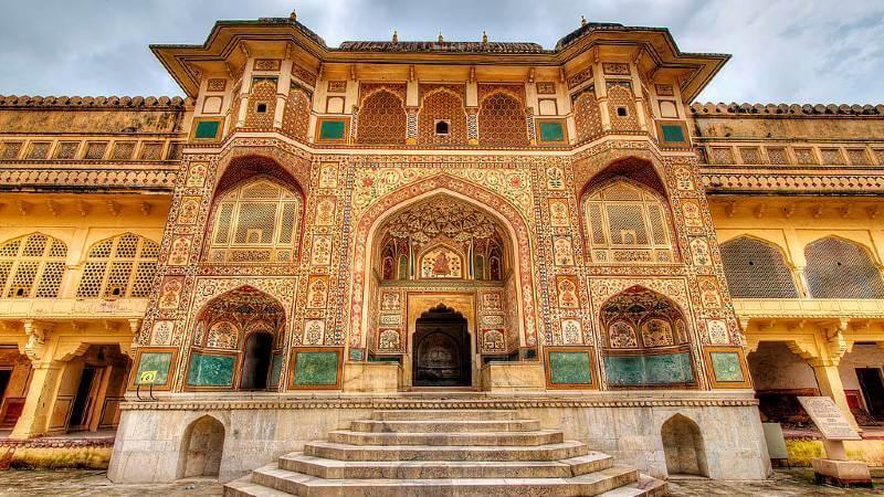 आमेर का किला, आमेर, भारत (Amer Fort, Amer, India)