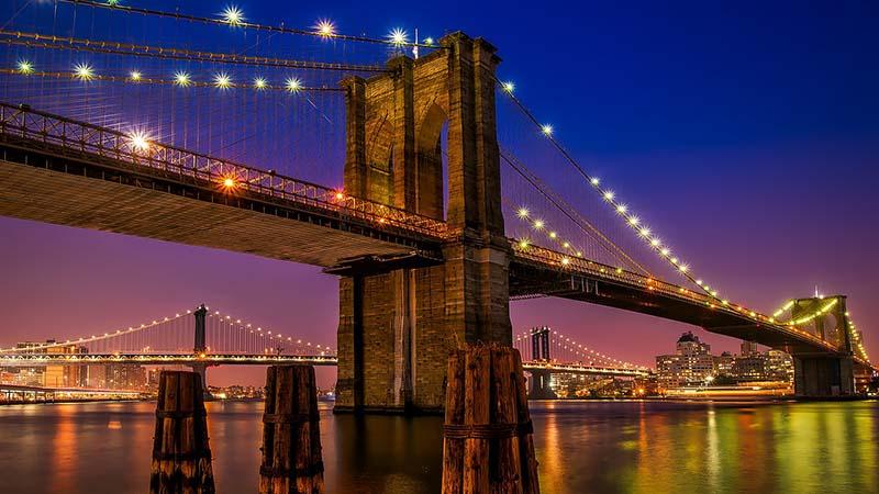 ब्रुकलिन ब्रिज का इतिहास (History of Brooklyn Bridge)