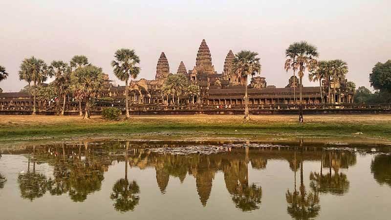अंगकोर वाट का इतिहास (History of Angkor Wat)