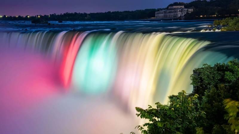 नियाग्रा फॉल्स का इतिहास (History of Niagra Falls)